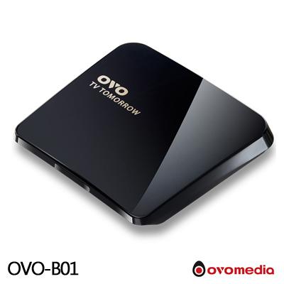 Ovomedia TV TOMORROW OVO-B01 4K Android電視盒