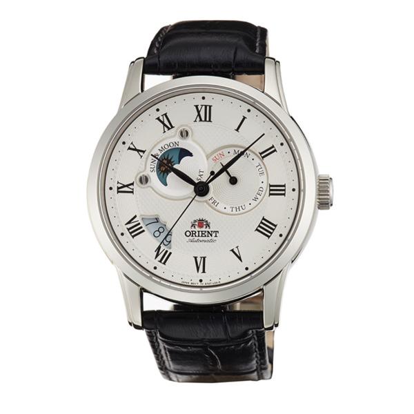 Orient 東方錶(SET0T002S)羅馬數字日月相腕錶/白面42.5mm