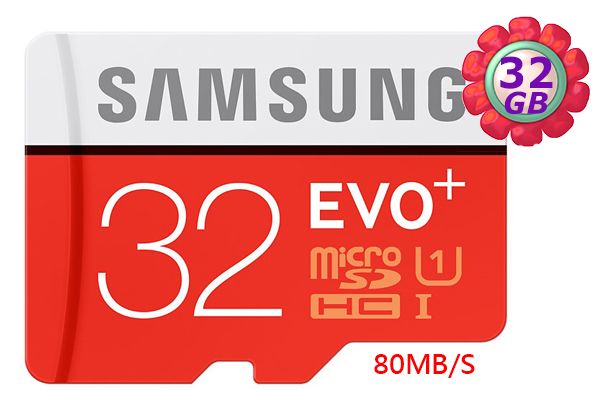 SAMSUNG 32GB 32G microSDHC【PLUS 80MB/s】micro SD SDHC microSD UHS-I UHS U1 C10 原廠包裝 手機記憶卡 記憶卡
