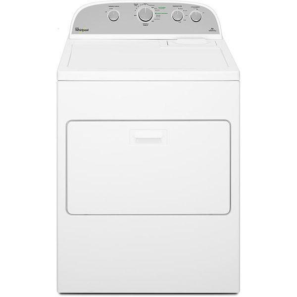 美國原裝Whirlpool惠而浦WGD5000DW美式直立12公斤瓦斯型乾衣機※熱線07-7108010