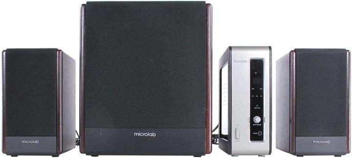 Microlab 麥博FC530 經典美聲 2.1聲道 4件式 店面提供試聽 加贈鐵三角音源線