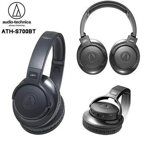 audio-technica 鐵三角 ATH-S700BT 內建擴大機 無線藍牙耳罩式耳機