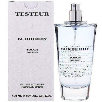 香水1986☆BURBERRY TOUCH 接觸 男性淡香水 100ML TESTER