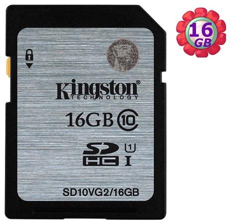 KINGSTON 16GB 16G 金士頓 SDHC【SD10VG2/16G】SD 45MB/s UHS-I UHS U1 原廠終保 相機記憶卡 記憶卡