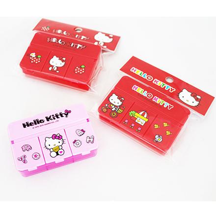 【敵富朗超巿】Kitty四格置物盒