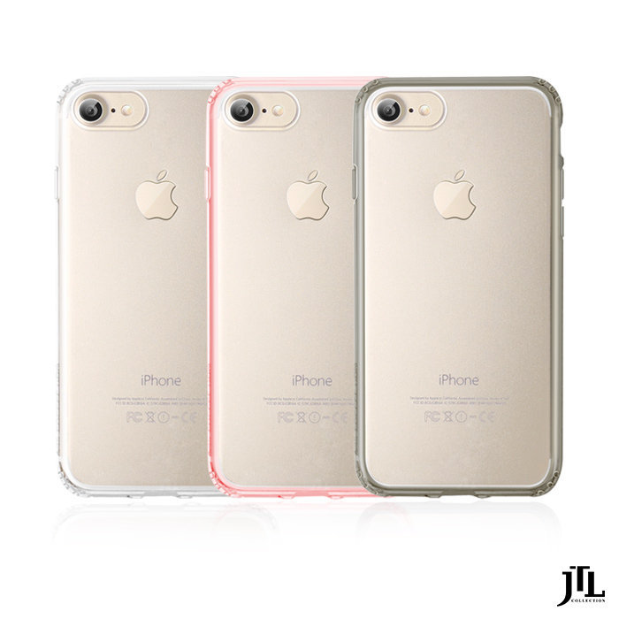 JTL APPLE iPhone 7 Plus 4.7吋 防震圈 保護殼 背蓋