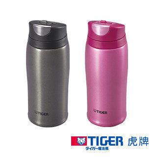 免運費 TIGER虎牌 360c.c.彈蓋式保冷保溫杯/保溫杯/保溫瓶/保溫壺/保溫罐 MCB-H036(粉)
