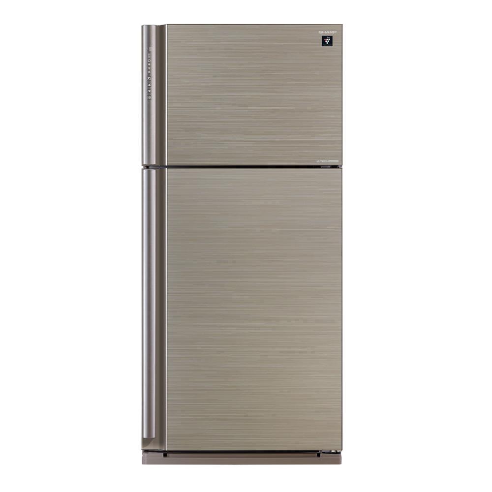 來電挑戰最優惠價 SHARP夏普541L自動除菌離子一級能效雙門冰箱SJ-PD54V-SL ※ 熱線02-2847-6777