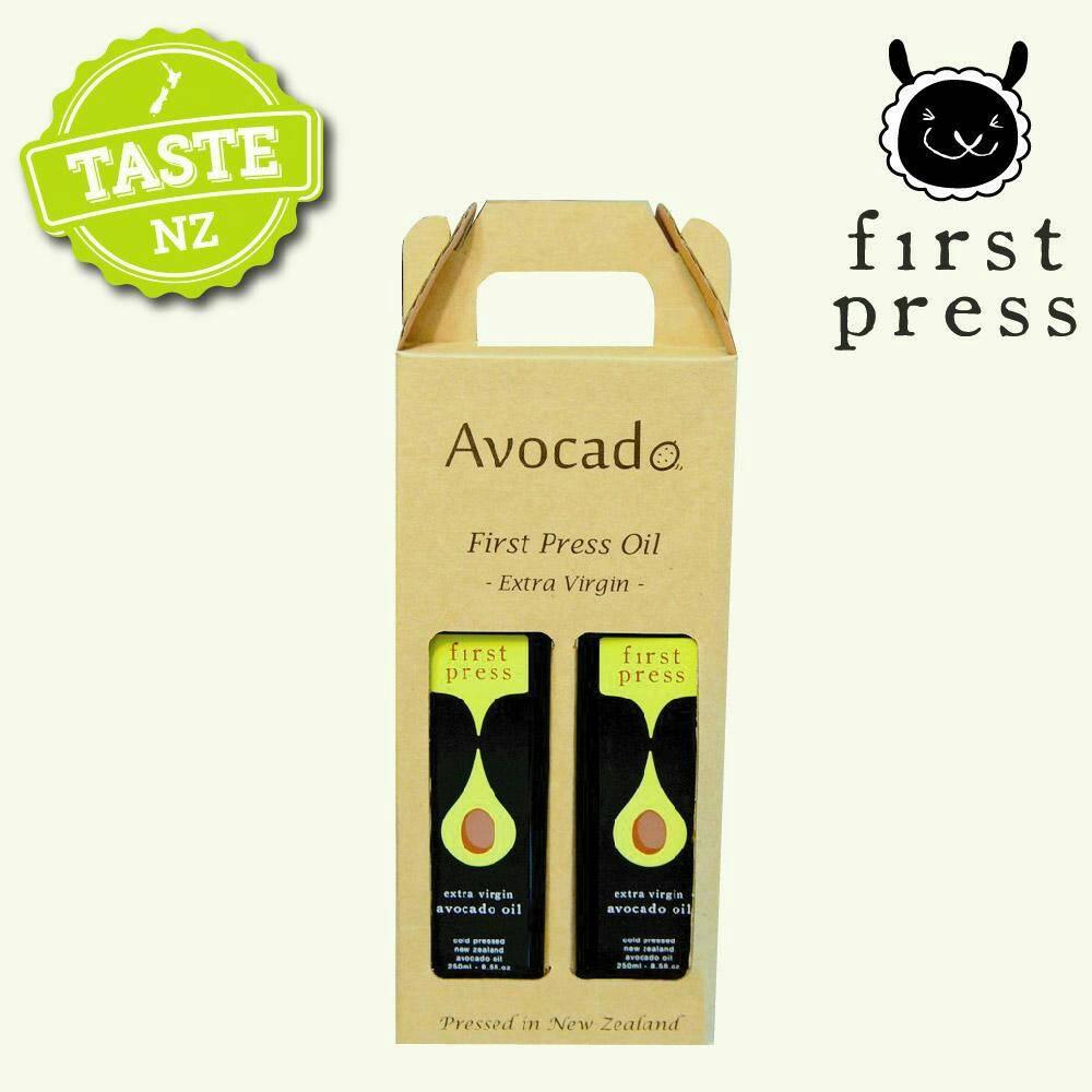 【壽滿趣- 紐西蘭原裝進口】First Press頂級冷壓初榨酪梨油(250ml 兩瓶禮盒裝)