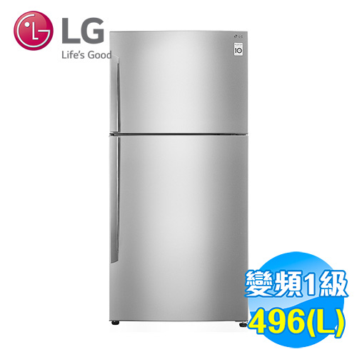LG 496公升 Smart 變頻 上下雙門冰箱 GN-B490SV