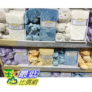 [105限時限量促銷] COSCO LITTLE MIRACLES SUPER LUXURIOUS &KNIT RATTLE SET 嬰兒隨意毯附玩偶安撫玩具  C1011026