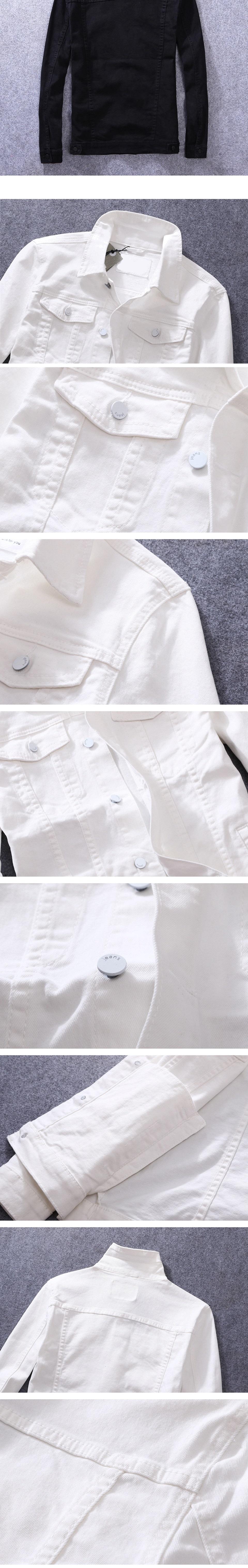牛仔外套-時尚個性磨破休閒淺色男丹寧夾克