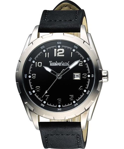 Timberland 天柏嵐 TBL.13330XS/02A都會潮男腕錶/黑面45mm