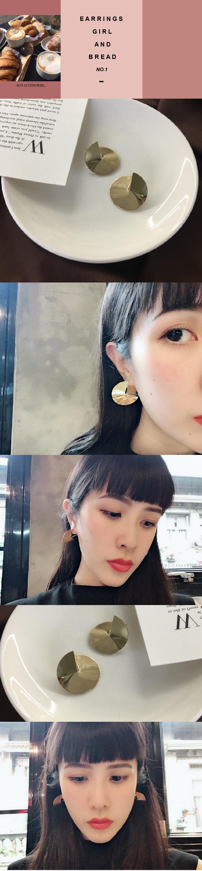 韓國飾品,立體造型耳環,針式耳環,夾式耳環,一體成形耳環,個性耳環