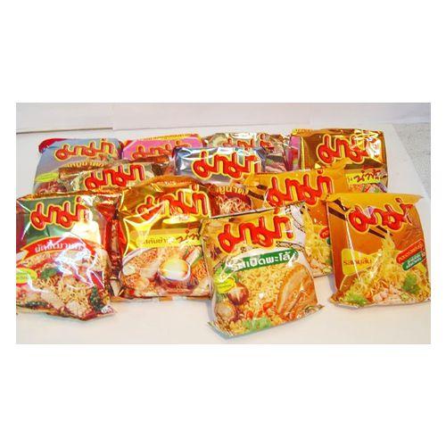 【泰國MAMA麵媽媽麵】蝦味/肉碎/豆腐味/風味乾麵 - 隨機出貨免運組合 15包贈15