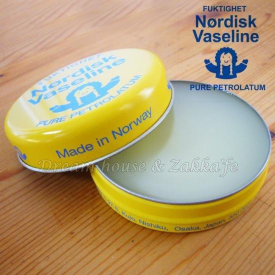 北歐挪威 Nordisk Vaseline 保濕護手霜《 無添加色素、香料、防腐劑 》★ Zakka\