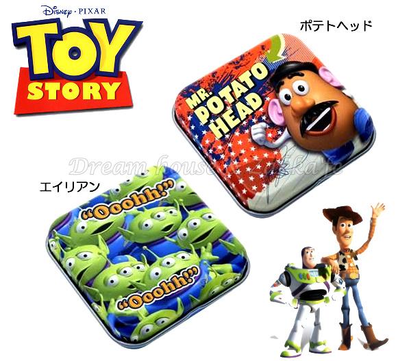 日本原裝進口 DISNEY 迪士尼 玩具總動員 迷你小物置物盒/鐵盒 《 2款任選 》★ 日本製 ★ Zakka\