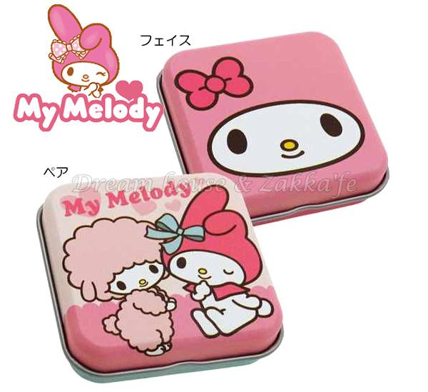 日本原裝進口 sanrio 三麗鷗 My Melody 美樂蒂 迷你小物置物盒/鐵盒 《 2款任選 》★ 日本製 ★ Zakka\