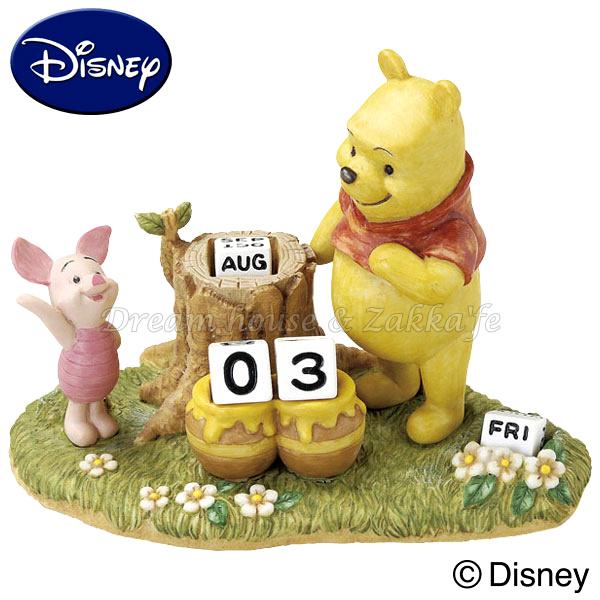 日本進口 Disney 迪士尼 小熊維尼 萬年曆 ★ Zakka\