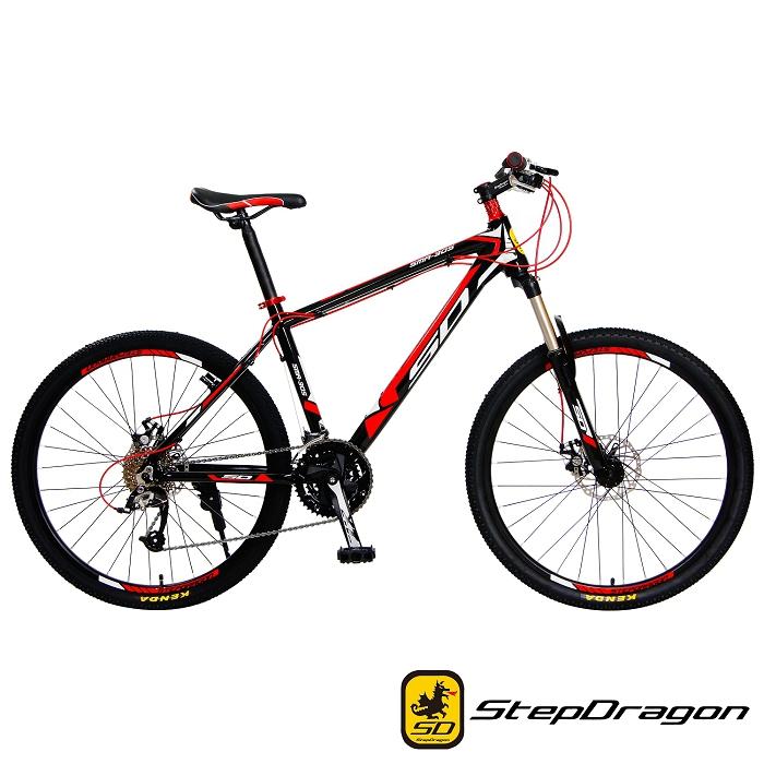 【StepDragon】 SMA-1000 MicroSHIFT 30速 鋁合金碟煞登山車