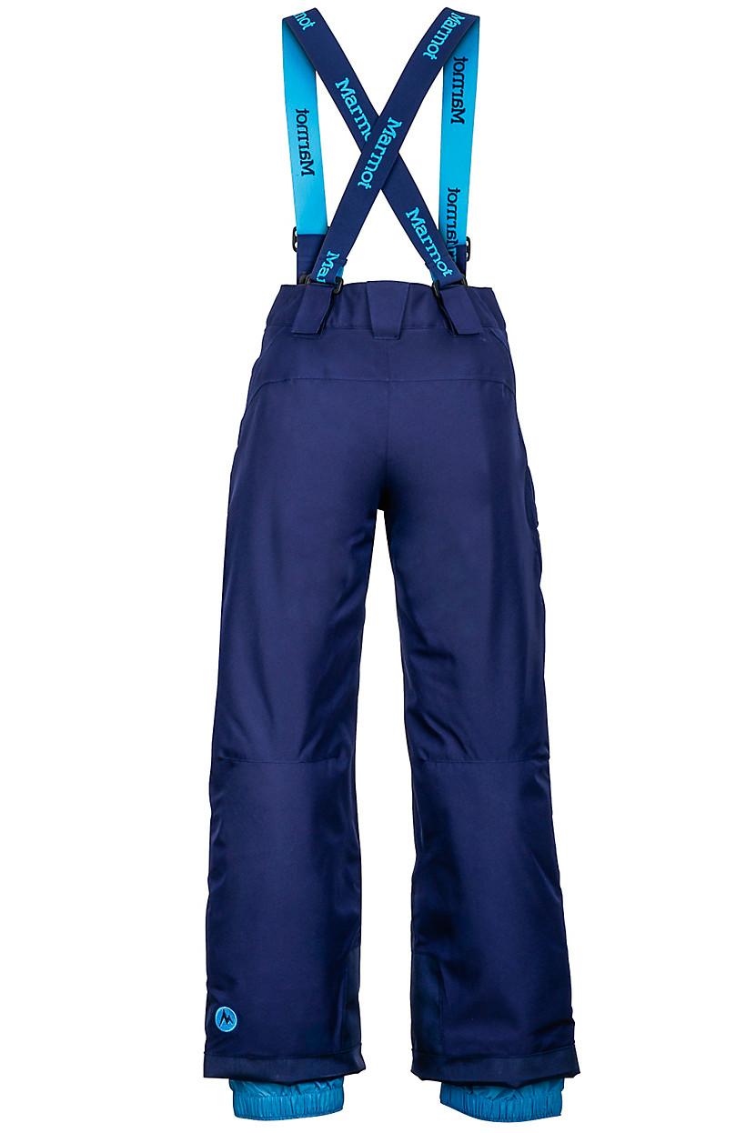 Marmot 兒童保暖褲 防水透氣滑雪褲/吊帶防水雪褲 小朋友雪褲 70100 B Edge 2975 藍