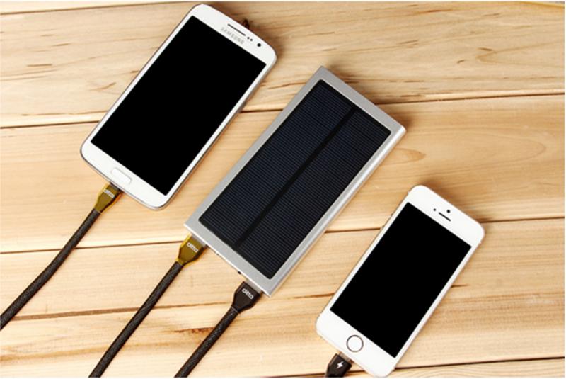 興雲網購【20000mAh天書太陽能37470-143】行動電源手機充電行動寶隨身寶安卓IPhone 手機配件 保固半年