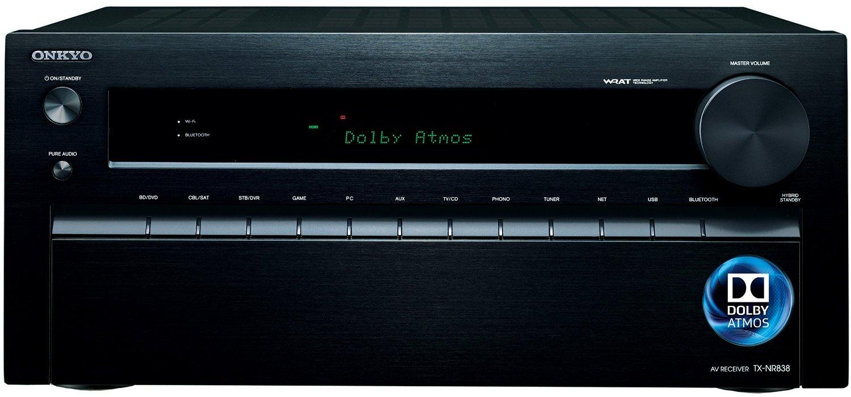 全新Onkyo TX-NR838 藍光擴大機~DOLBY ATMOS
