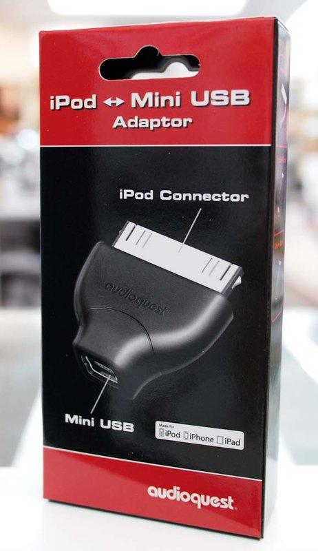 {音悅音響MUSIC HI-FI}AudioQuest iPod Mini USB Adaptor 轉接頭