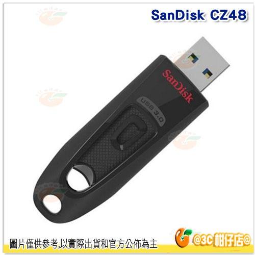 免運 Sandisk CZ48 32G Ultra USB 3.0 高速 隨身碟 100 MB/s 快閃碟 儲存碟 公司貨