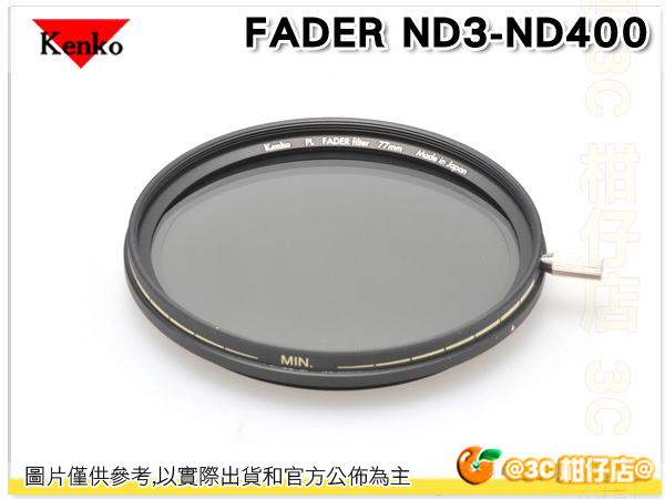 Kenko PRO PL FADER ND3-ND400 減光鏡 72mm 72 正成公司貨 日本製