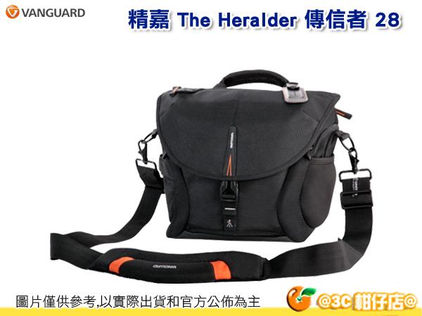 VANGUARD 精嘉 The Heralder 傳信者 28 單肩 斜背 相機包 可掛腳架 10吋筆電 1機3鏡含手把 附防雨罩