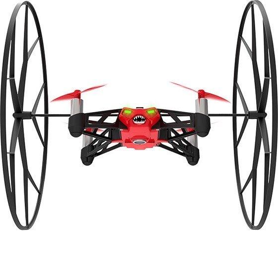 *╯新風尚潮流╭* Parrot Rolling Spider 迷你 智能 遙控飛機 紅 Parrot-Spider-R