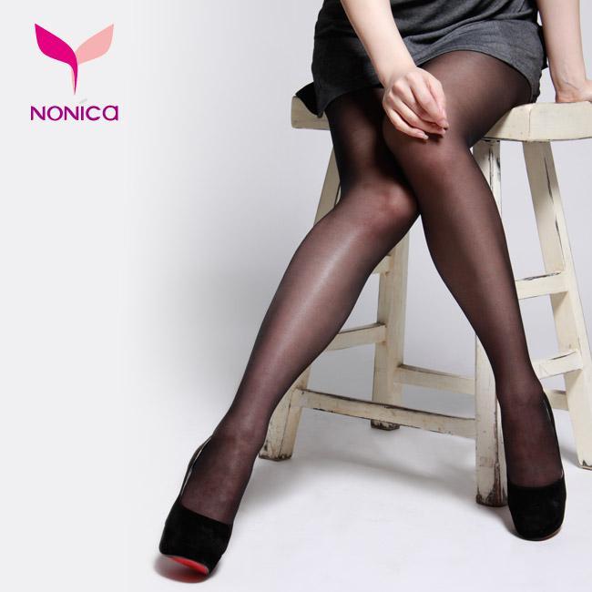 春夏時尚#50D 超透膚耐勾全彈性褲襪★膚色/黑色