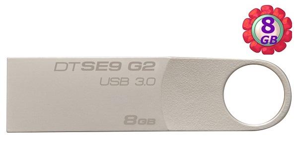 Kingston 8GB 8G 金士頓【DTSE9G2】DTSE9G2/8GB Data Traveler SE9 G2 USB 3.0 原廠保固 隨身碟