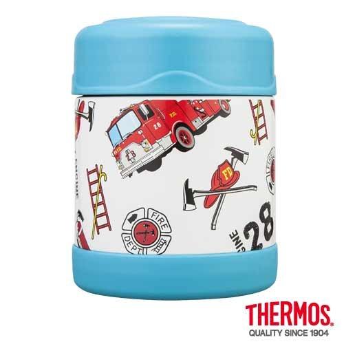 THERMOS 膳魔師 300ml 消防車不鏽鋼真空燜燒食物罐 F3001OW6 **可刷卡!免運費**