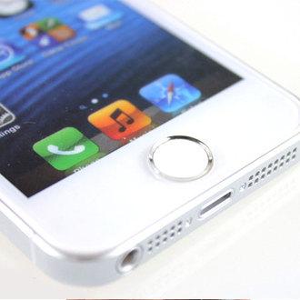 指紋辨識貼 Home鍵貼 iPhone 5S 6 Plus iPad 按鍵貼 鋼化玻璃膜 保護貼【B089110】