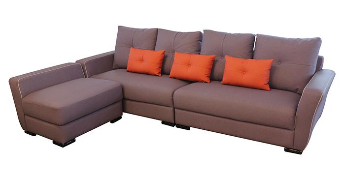 【尚品家具】798-05 文萊紫色L型貓爪皮沙發/家庭沙發/客廳沙發/會客沙發/ L-Shaped Sofa
