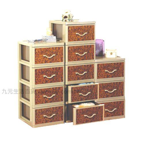 【九元生活百貨】聯府 QXL50 核桃木五層櫃(附輪) 置物櫃 收納櫃 QXL-50