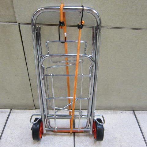 ~雪黛屋~摺疊行李手推車 好收納 耐承重 萬用購物車 台灣製造 品質保證 高級電鍍防鏽#101