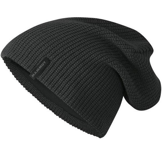 Mammut 長毛象 登山毛帽/登山保暖帽/滑雪/旅遊 Runbold 保暖編織帽 1090-04880-0121 石墨灰
