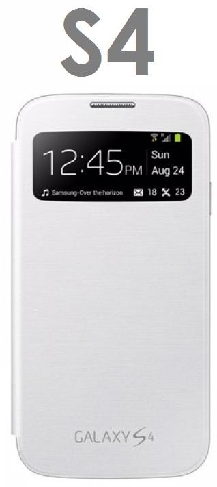 【原廠吊卡盒裝】三星 Samsung Galaxy S4 (I9500) S View 原廠側翻透視感應皮套 保護套