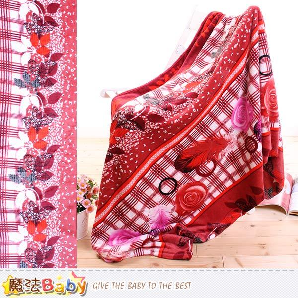 法蘭絨毛毯 150x210cm 四季毯 魔法Baby~w62023