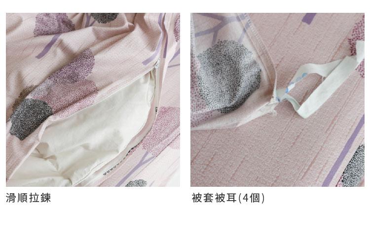 台灣精梳棉床包組-商品細部圖