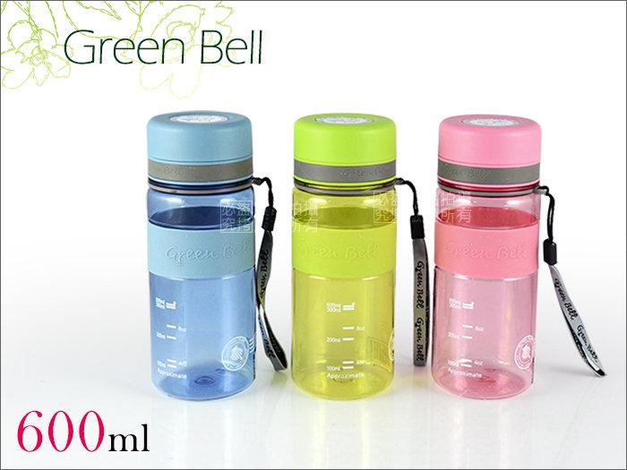 快樂屋? Green Bell日本綠貝牌 馬卡龍直飲防滑太空壺 600ml (可手提隨手杯.冷水壺.環保杯.泡茶壺)媲太和工房
