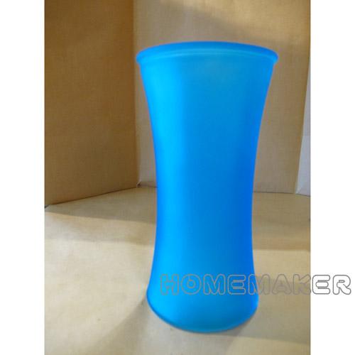 玻璃花瓶 20cm (藍色) G-V063