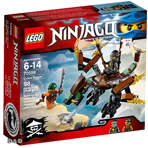樂高積木LEGO《 LT70599 》2016 年 NINJAGO 旋風忍者系列 - Cole\