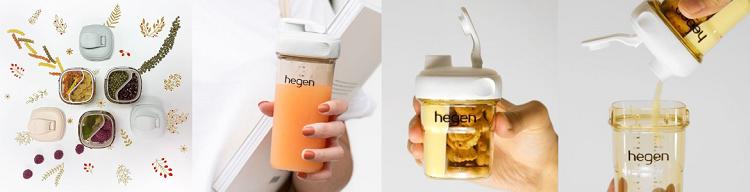 新加坡【hegen】小波浪食物分格儲存組 安琪兒