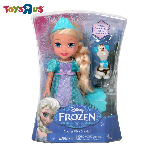 玩具反斗城 冰雪奇緣公主娃娃(6吋)-艾莎