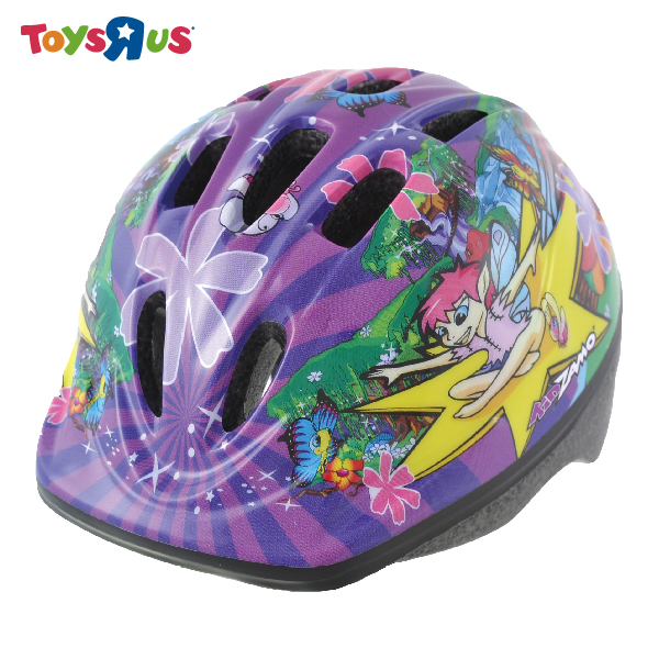 玩具反斗城  女孩腳踏車安全帽 (大)-紫