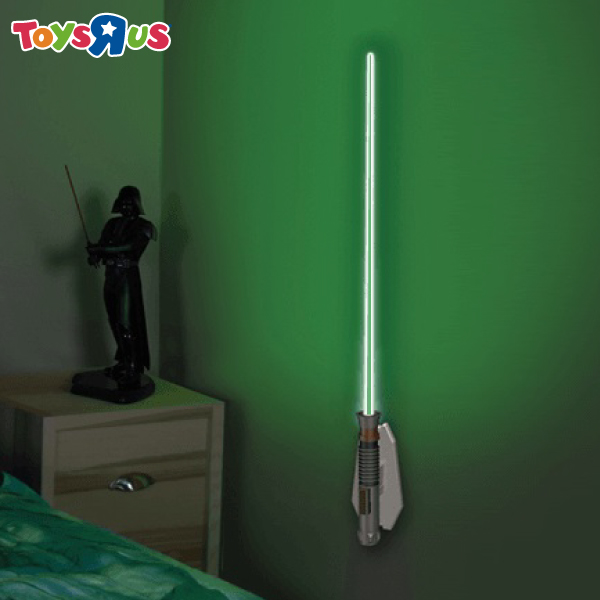 玩具反斗城 星際大戰 光劍造型遙控壁燈 路克 天行者